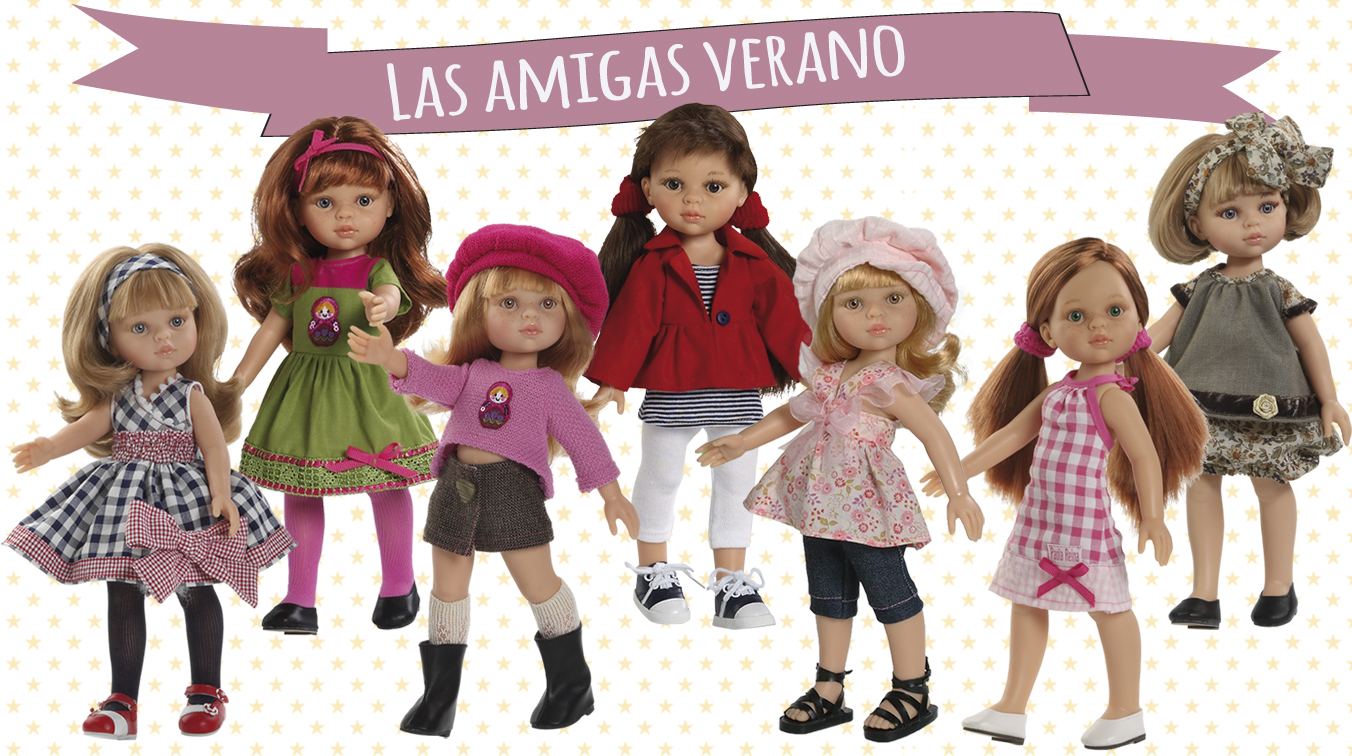 Amigas_Verano_Muñecas